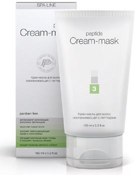 SPA Line Крем-маска для волос с пептидами и Неовитином