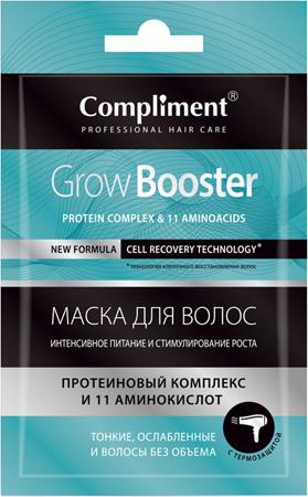 Маска для волос Grow Booster Интенсивное питание и стимулирование роста, 25мл
