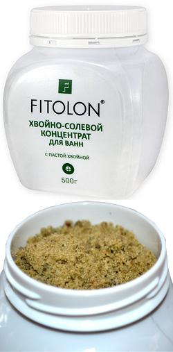 Фитолон Хвойно-солевой концентрат с пастой хвойной, 500мл