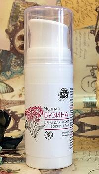 Черная БУЗИНА Крем ВОКРУГ ГЛАЗ Organic Anti-age и питание