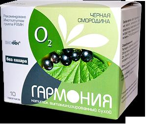 Напиток ГАРМОНИЯ ЧЕРНАЯ СМОРОДИНА (без сахара)