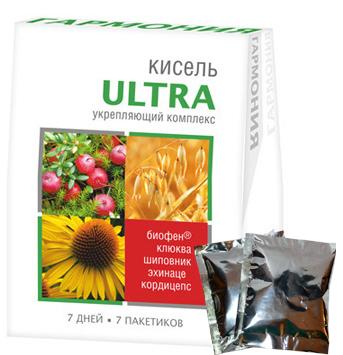 Кисель ГАРМОНИЯ ULTRA с Биофеном Укрепляющий комплекс
