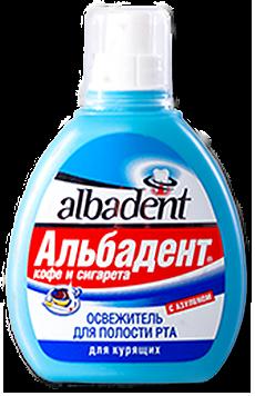 Альбадент Освежитель для рта Кофе и сигарета с азуленом, 35мл