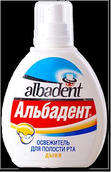 Альбадент Освежитель для рта Дыня, 35мл
