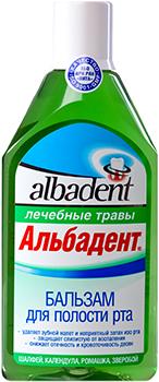 Бальзам Альбадент Лечебные травы, 400мл
