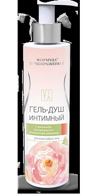 ФП Гель-душ интимный с Неовитином, фарнезолом, бисабололом и экстр. зеленого горошка, 200мл