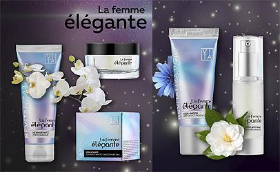 Набор косметики La femme elegante ревитализация за 1500 руб.