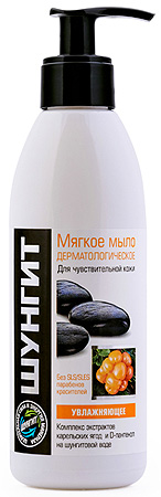 ШУНГИТ Мыло мягкое дерматологическое Увлажняющее, 300мл